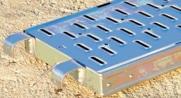 Plateau acier pour échafaudage galvanisé photo 1